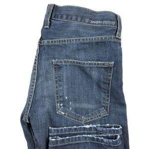 Current Elliot The Boyfriend Distressed Jeans